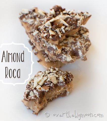 Easy Almond Roca - It is so easy to do at home! Perfect for neighbors gifts at Christmas time!
