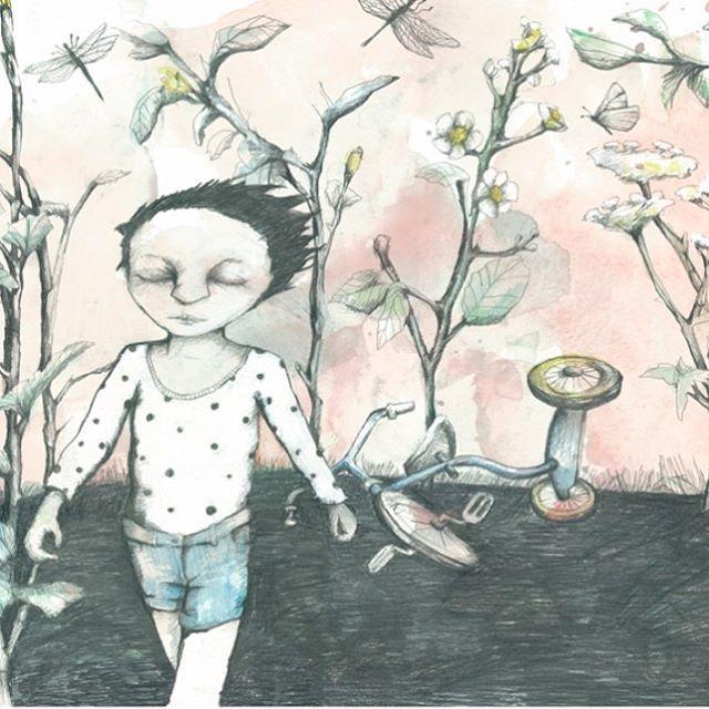 Illustration from danish artist Kirstine Falk Johansen.