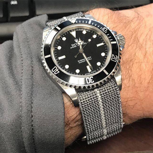 MIrage MN Strap on the Rolex Submariner from @edestlow ...