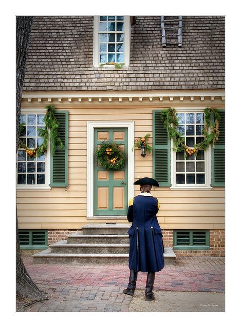 Colonial Williamsburg Christmas-one of my favorite places to be.