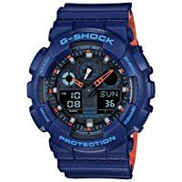 G-Shock GA-100 Military Series Watches - Navy / One Size