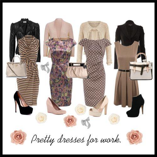Neutral dresses for work