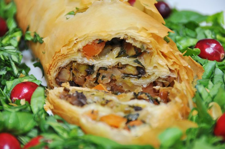 This vegetable Wellington is the perfect main course for your holiday dinner, or for any special occasion.