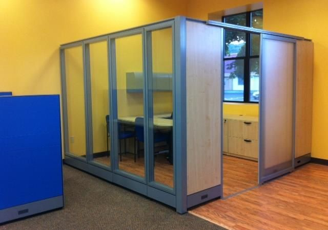 157 best cubicles i love images on pinterest office Office partition walls with doors