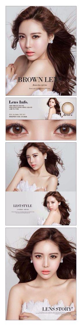O-lens brown lens