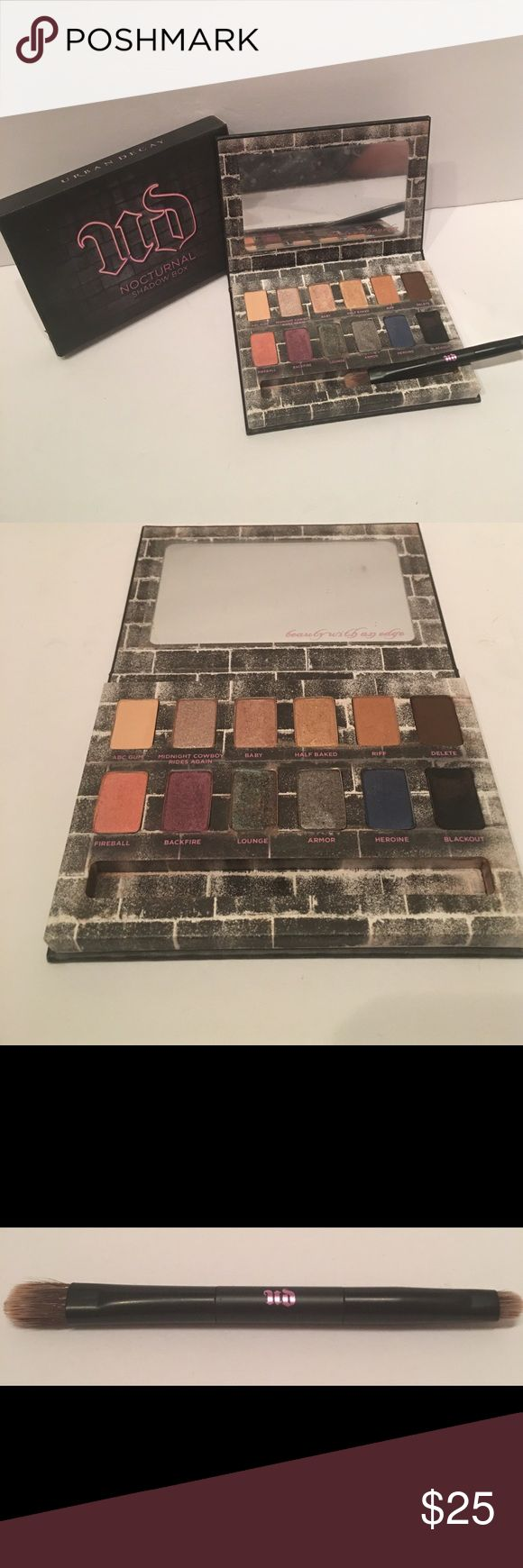 URBAN DECAY NOCTURNAL SHADOW BOX 1 color USED 5 times! Otherwise perfect! URBAN DECAY NOCTURNAL SHADOW BOX!!! Urban Decay Makeup Eyeshadow