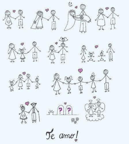 La historia de nuestro amor...