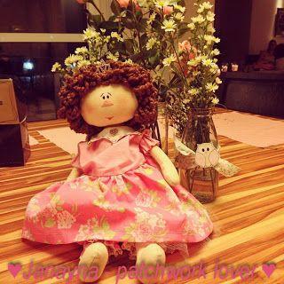 Boneca Alice - Janayna: patchwork lover!