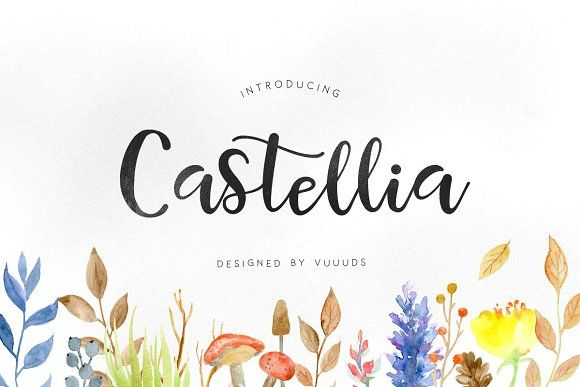 Castellia by vuuuds on @creativemarket