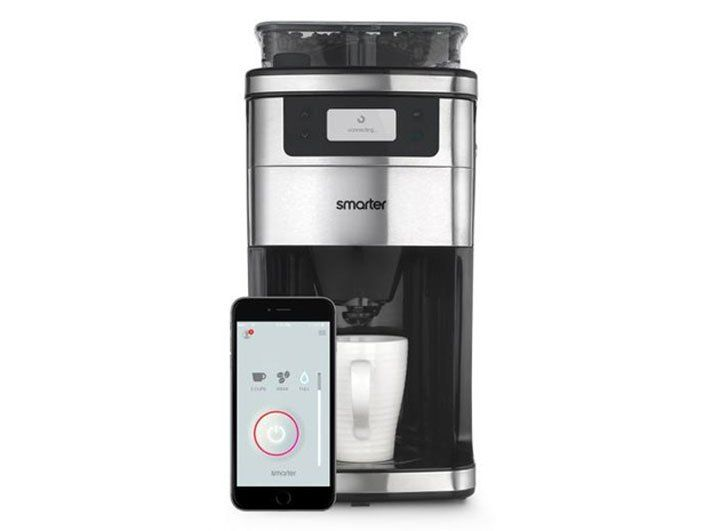 """What if your coffee maker could tell if you needed an extra jolt of caffeine in the morning? Enter Smarter's """"WiFi Coffee Machine"""" – an Internet-connected coffee maker that allows users to program their morning cup through an app."""