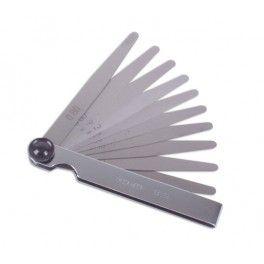 Juego 20 Galgas de Espesores 10mm. 0.5-1.00 www.motortool.es
