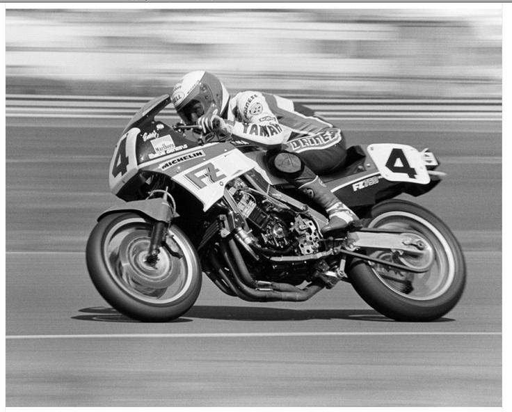 Eddie Lawson + FZ750