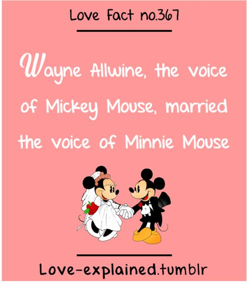 Wayne Allwine The Voice Of Mickey Mouse Married Minnie