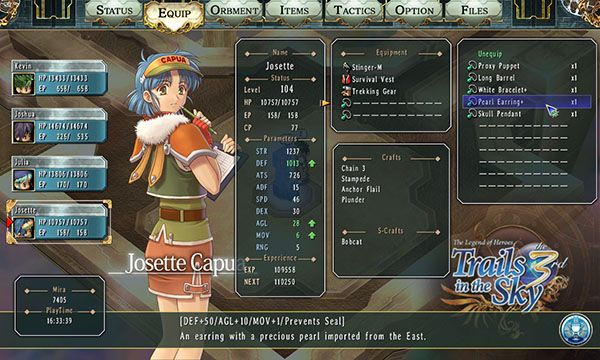 The Legend of Heroes: Trails in the Sky the 3rd launches May 3 in the west