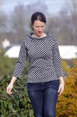 Melanie's Coco top - sewing pattern by Tilly and the Buttons
