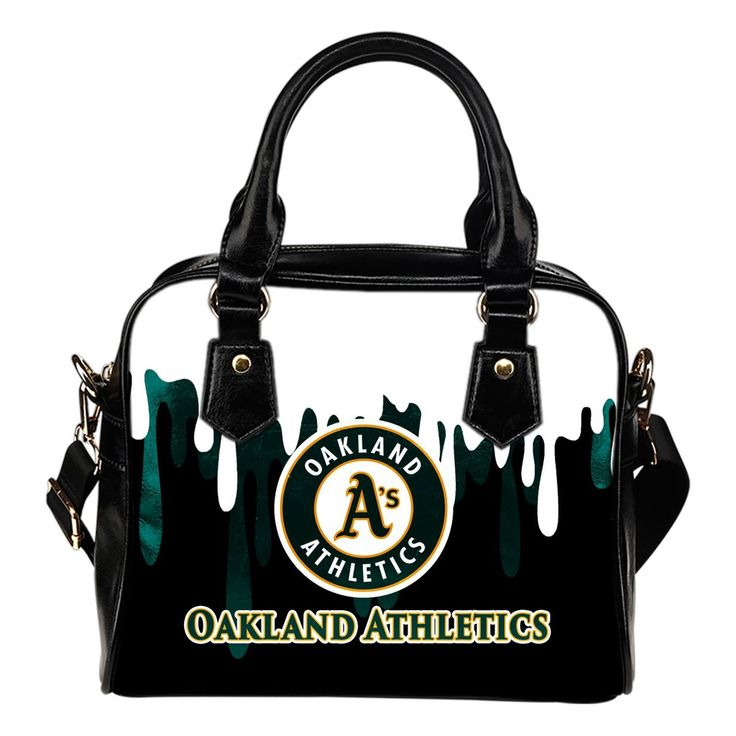 Color Leak Down Colorful Oakland Athletics Shoulder Handbags – Best Funny Store