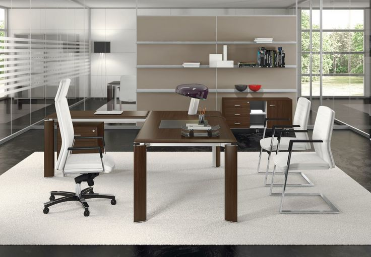 Managerial office fill evo from las mobili italy for Office design hamra