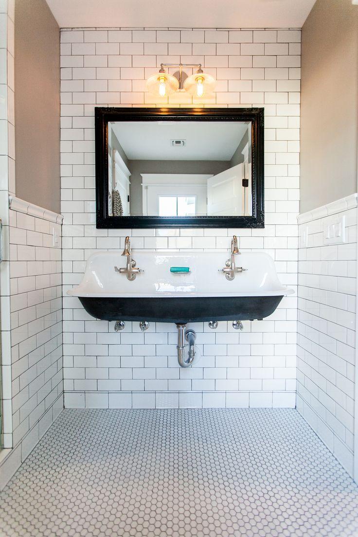 Trough Sink Ideas Onsink Inspiration Rustic
