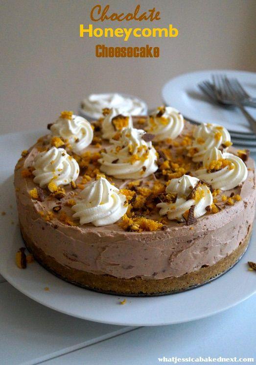 honeycomb cheesecake