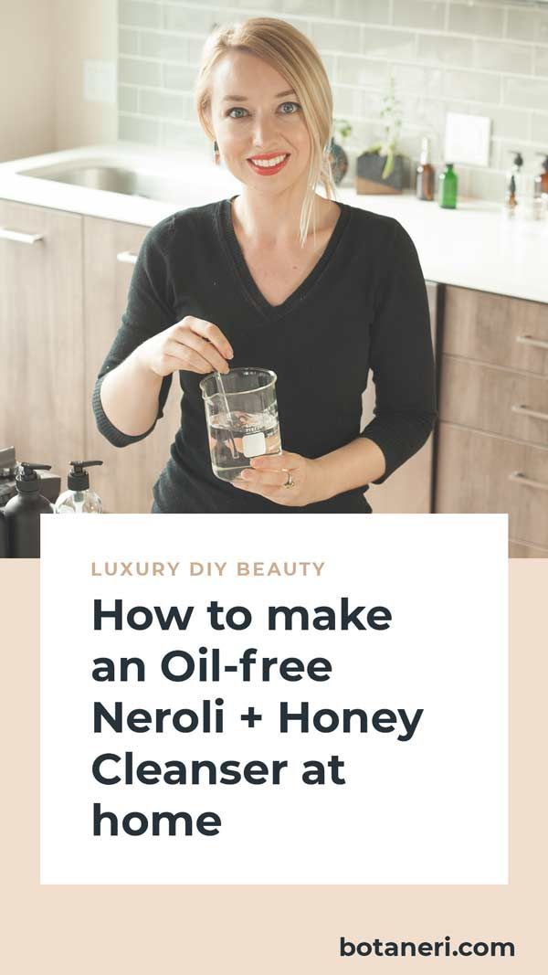Oil-Free Neroli and Honey Cleanser