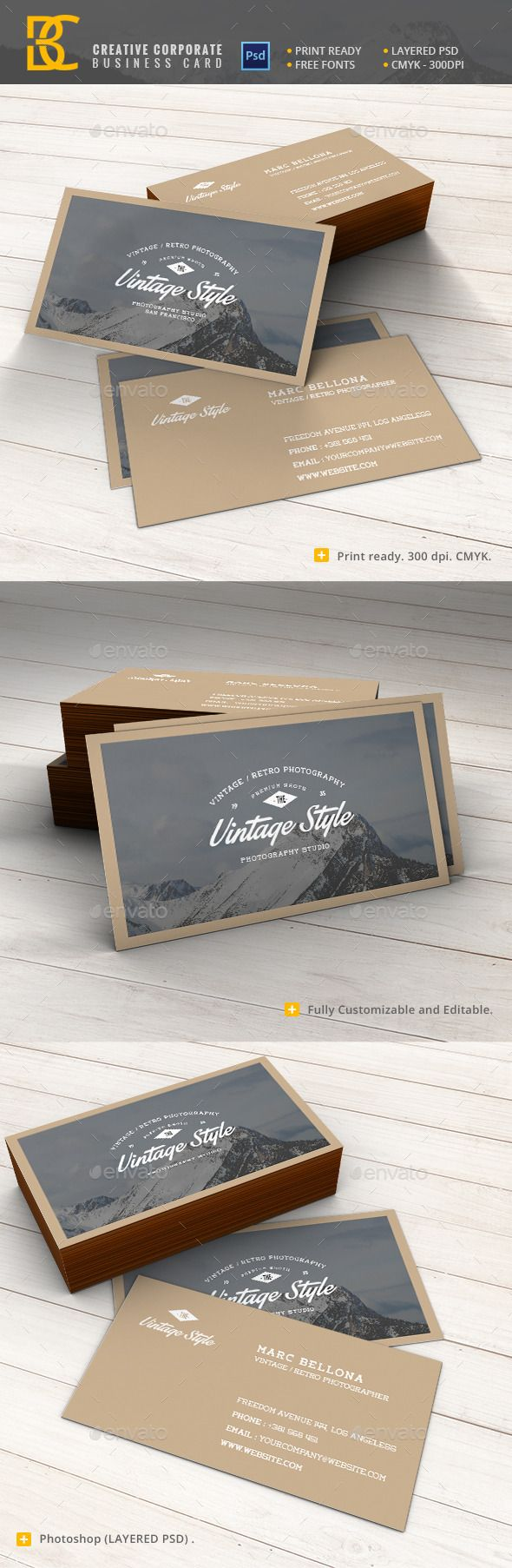 243 best Business Card Inspiration images on Pinterest | Fonts ...