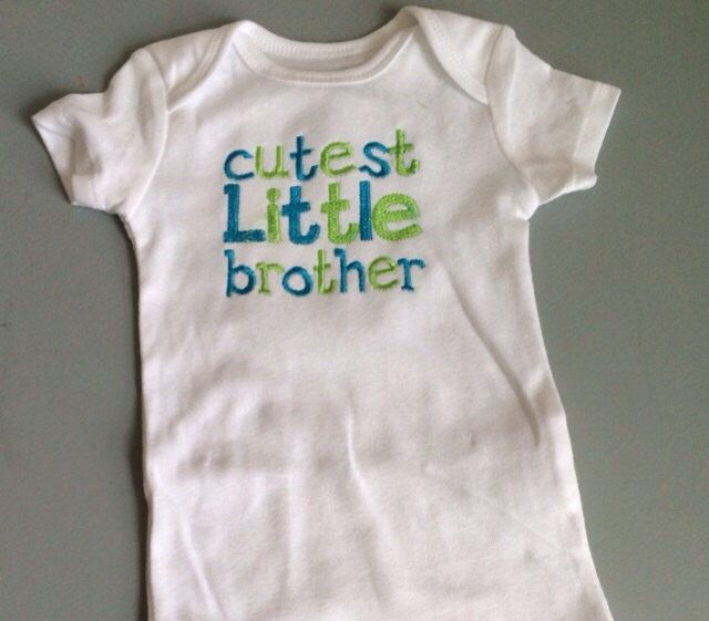SALE 40% OFF- Cute Baby Boy Clothes-Baby Boy Outfit- Little Brother Shirt, Little Brother outfit, Baby Clothing-Baby shirt by BabyBodysuitBoutique on Etsy https://www.etsy.com/listing/183571514/sale-40-off-cute-baby-boy-clothes-baby