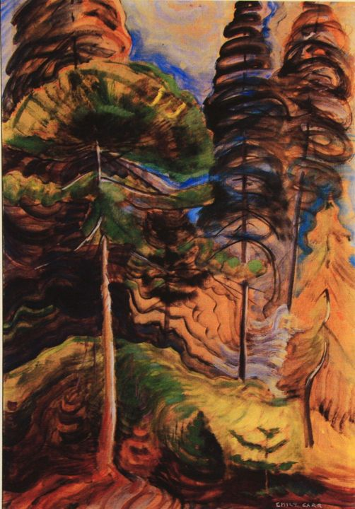 Forest Landscape by Emily Carr, Group of Seven associate