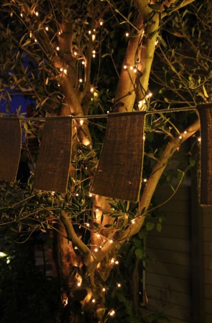 Bunting for hire, outdoor events & fairy lights inspiration @fireflyworkshop