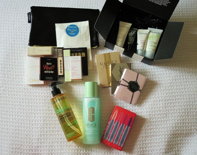 LUKA B: Sephora.ca order with Mistletoe Moments sample set...