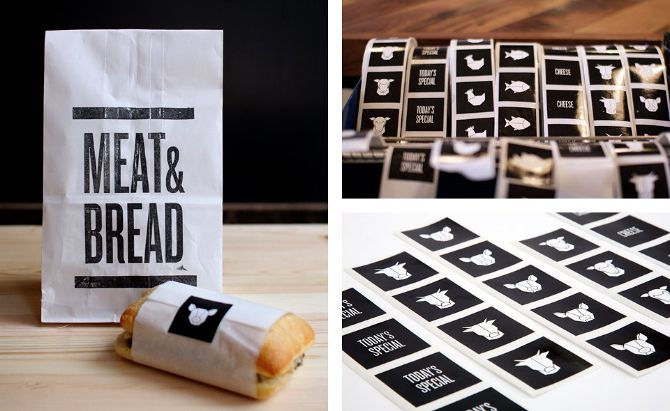 Meat & Bread - Glasfurd & Walker : Concept / Graphic Design / Art Direction : Vancouver, BC
