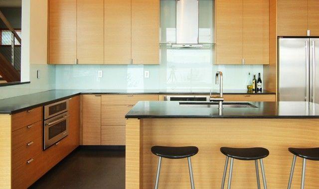 Moderne Küche Schränke Seattle Bezug auf Vorhandene