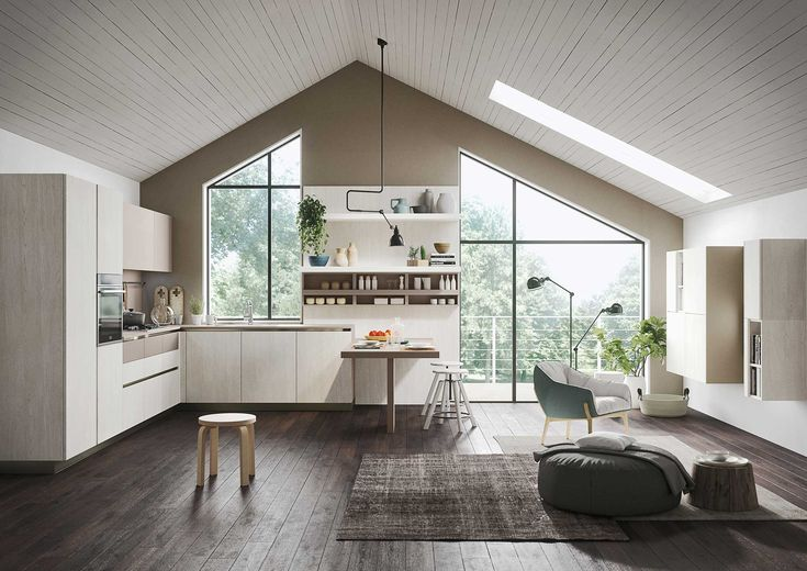 First | Collection Everyone | Casual Kitchens from Snaidero
