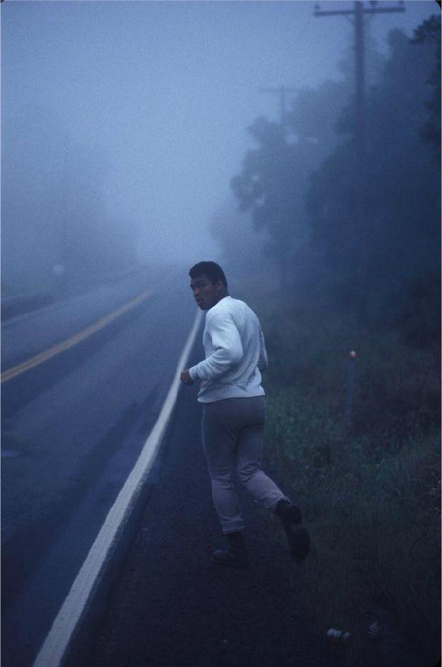 Muhammad Ali Training, Ken Regan, 1974.