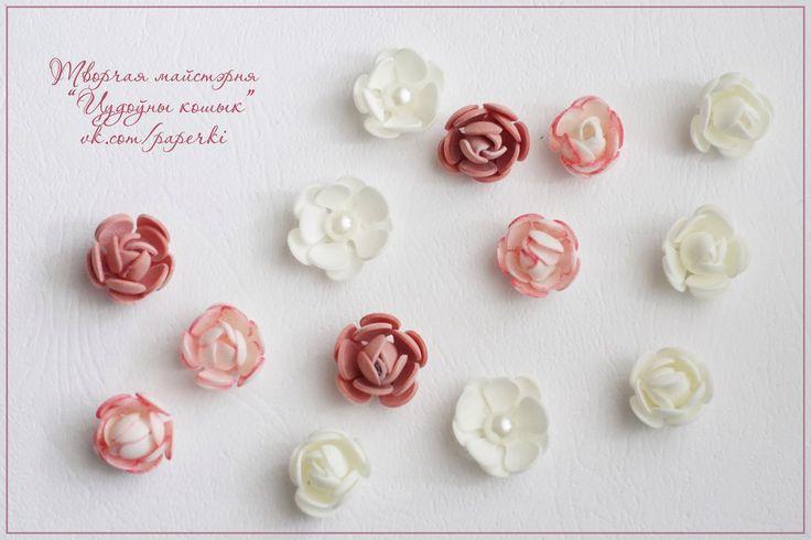 МК мини цветок из фоамирана – 14 фотографий