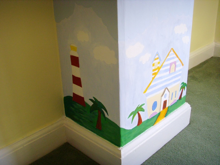 Abadas mural no. 1 - Well done Pip! It looks fab
