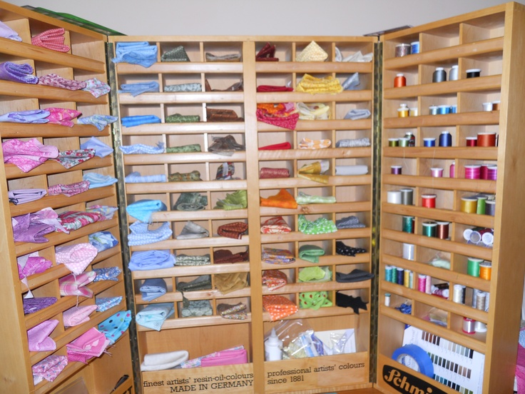 Thread And Fabric Storage