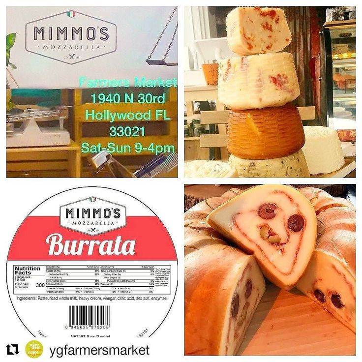 Credit to #ygfarmersmarket  from #mimmosmozzarella -  Stop by.... Weekend Fresh Market in Hollywood. MIMMO'S  is here!!!! All Day Differ Venue's foods clothing trees & More!! #mimmosmozzarella BOOTH 255 #yellowgreenfarmersmarket  #burrata#YellowGreenFarmersMarket #FreshAndHearty  #shopLocal    #HollywoodTapFL #HollywoodFL #HollywoodBeach #DowntownHollywood #Miami #FortLauderdale #FtLauderdale #Dania #Davie #DaniaBeach #Aventura #Hallandale #HallandaleBeach #PembrokePines  #Miramar…
