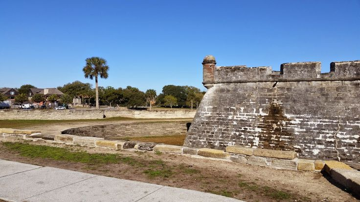 Western New Yorker: Castillo de San Marcos in St. Ausgustine FL