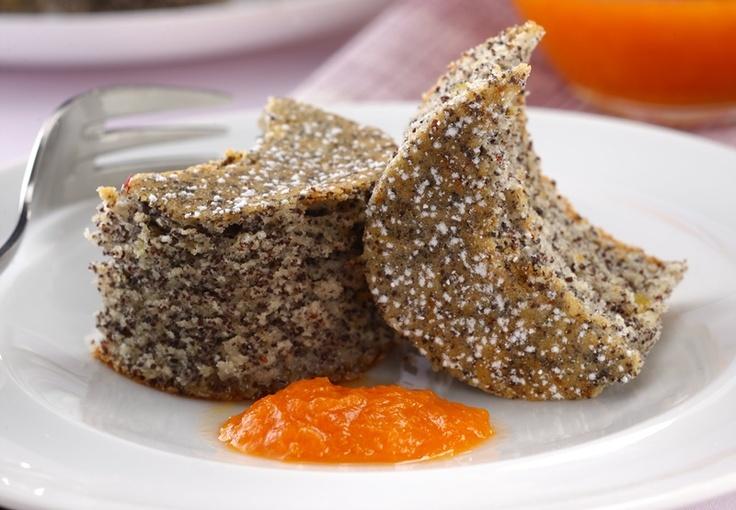 Bögrés mákos süti  Poppy Seed Cake-- YUM!!!