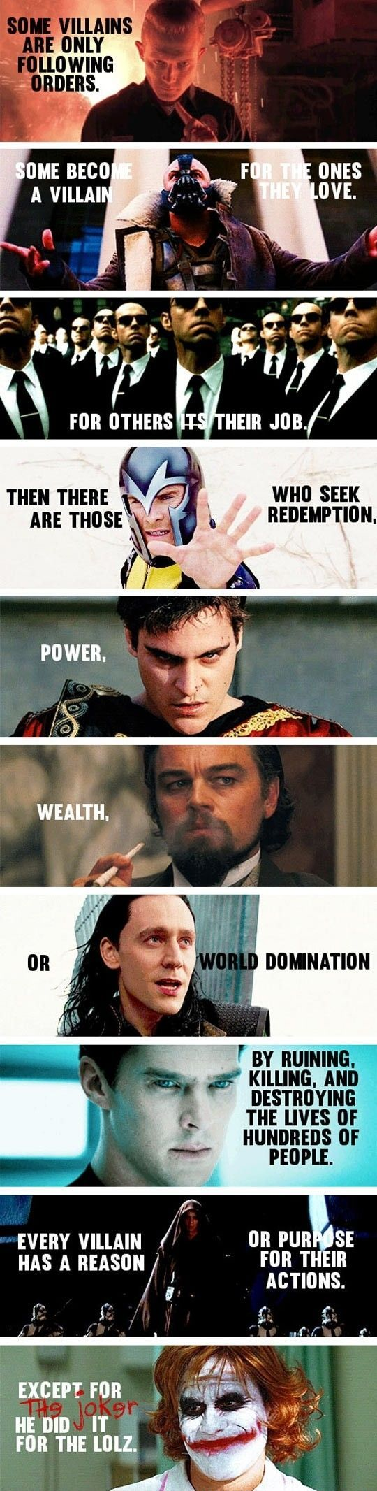 I Believe In Heroes, But Some Villains Are Better #haha #funny