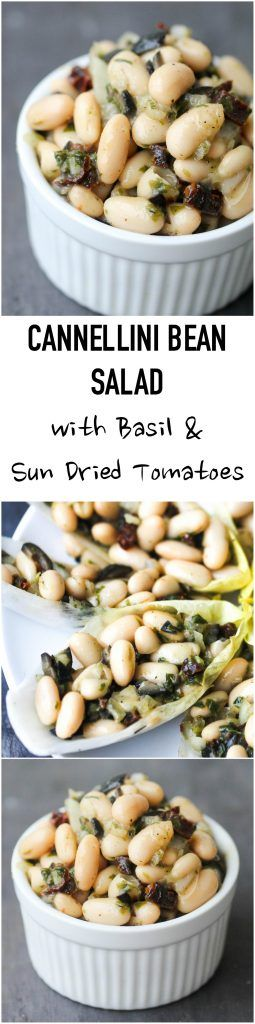 Cannellini Bean Salad with Basil and Sun-Dried Tomatoes makes a lovely light lunch or can be enjoyed as a refreshing side, or take it to a picnic, potluck. It is naturally vegan & gluten-free. http://www.foodpleasureandhealth.com/2017/03/cannellini-bean-salad-with-basil-and-sun-dried-tomatoes.html