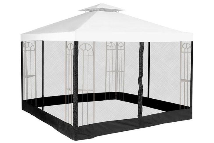 mosquito net for 10x10 gazebo