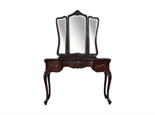 Cassandra Dressing Table with Mirror  Measurements 1120 x 480 x 850