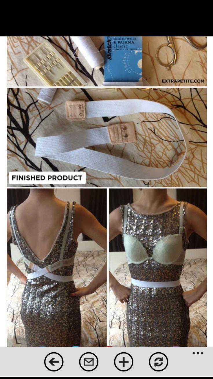 Idea para los vestidos con escote
