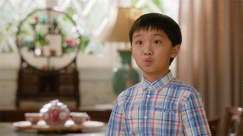 New party member! Tags: love kiss like fresh off the boat smooch flirt teasing evan huang ian chen