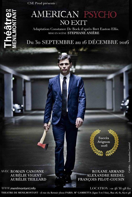 American Psycho entre drame et caricature au Théâtre de Ménilmontant