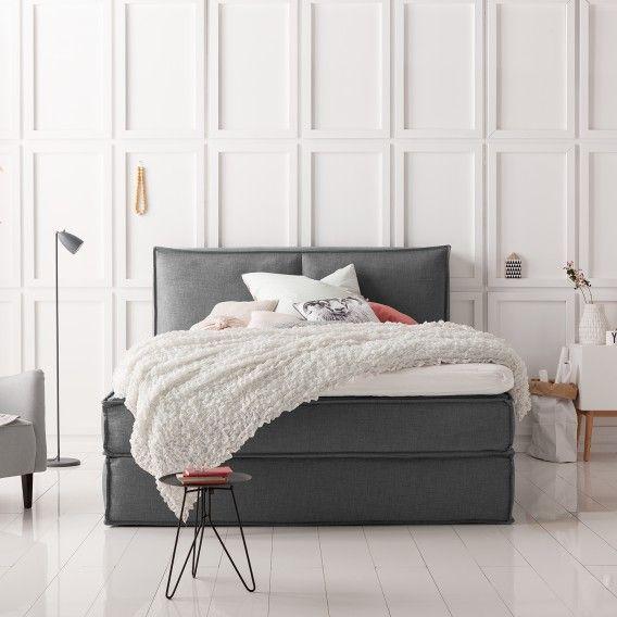 Die besten 25+ Boxspringbett Ideen auf Pinterest Elegantes - modernes schlafzimmer grau