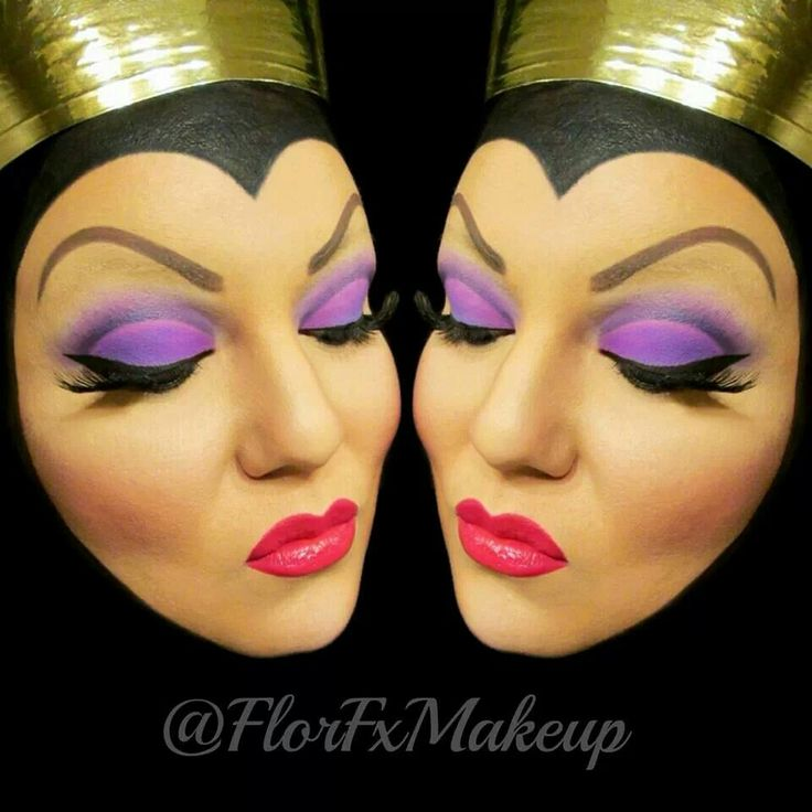 Evil Queen makeup look!