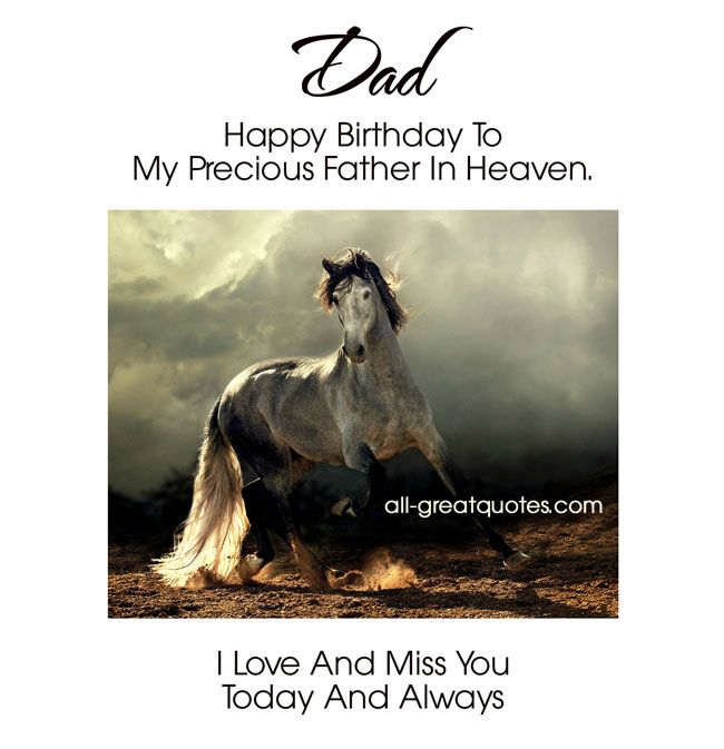 Dad .. Happy Birthday To My Precious Father In Heaven. I