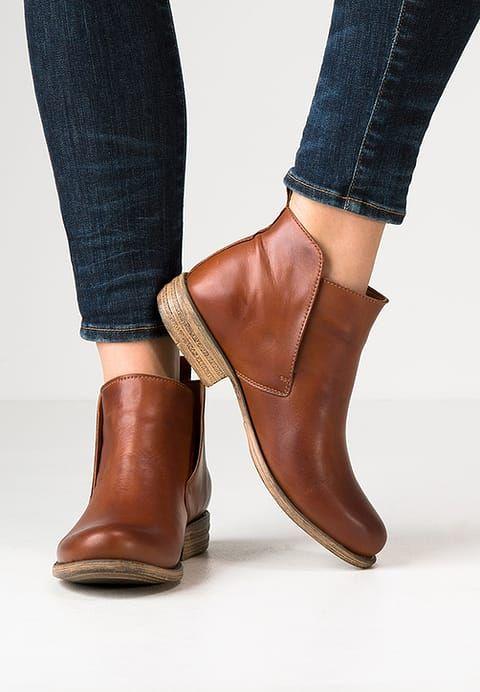 Boots à talons - brandy - ZALANDO.FR 90€